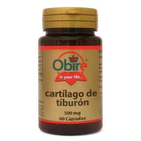 CARTÍLAGO DE TIBURÓN 500 MG. 60 CÁPSULAS