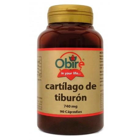 CARTÍLAGO DE TIBURÓN 740 MG. 90 CÁPSULAS
