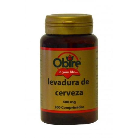 LEVADURA DE CERVEZA 400 MG. 200 COM.