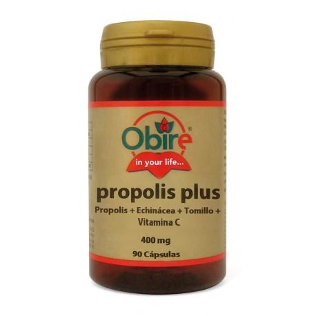 PRÓPOLIS PLUS (Prop.+Echin.+Tomillo+C) 90 CÁP. •