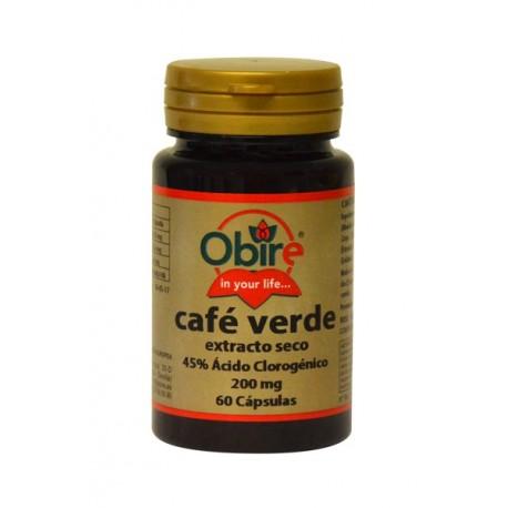 CAFÉ VERDE 200 MG. (EXT. SECO) 60 CÁPSULAS