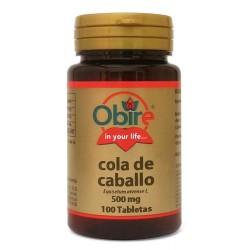 COLA DE CABALLO 500 MG. 100 COMPRIMIDOS •