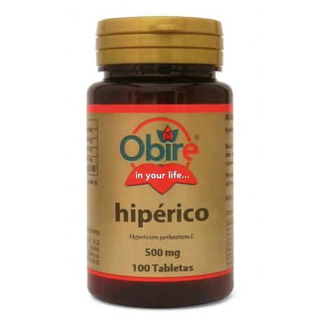 HIPÉRICO 500 MG. 100 COMPRIMIDOS