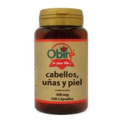 CABELLOS, UÑAS ( LEV+SELENIO ) 100 CÁPSULAS •