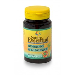 GINSENG & GUARANA 400 MG. 50 CÁPSULAS