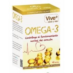 Omega3 Vive plus 48 cápsulas