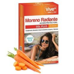 Moreno Radiante Viveplus 30 cápsulas