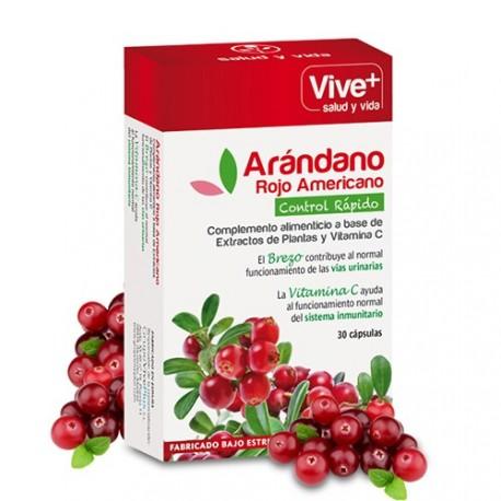 Arandano Rojo Americano Vive+ 30 cápsulas