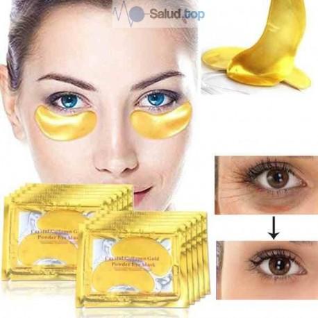 Máscara anti-ojeras reductor de bolsas ojos con colágeno
