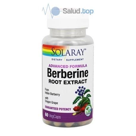 Berberina 500mg 60 cápsulas Solaray