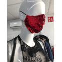 Mascarilla de diseño de tela para vestir