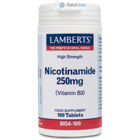 Nicotinamida 100Comp Lamberts